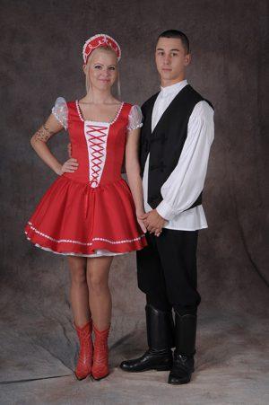 Díszmagyar / Magyaros esküvői ruhák