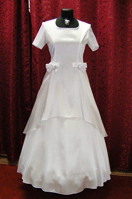 Bori 2 részes szatén ruha masnival. Kezdőlap   Különleges alkalmak    Elsőáldozás. Kategória  Elsőáldozás 919311c33b