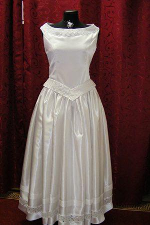 Bori 2 részes szatén ruha masnival – 5let 70fbf16976